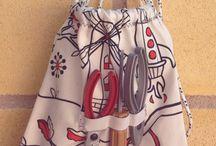Para niños con grandes ideas / Mochilas, mandiles reversibles para largas horas de cocina, guardadientes y camisetas