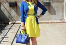 Bronze + Blue = Style