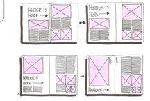 Diseño De Revistas / Ideas para bocetacion  de revista