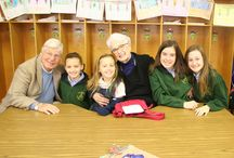 Grandparents Day / We LOVE our Grandparents - St. Monica Catholic School celebrates our Grandparents and Grandfriends each year during Catholic Schools Week - #SMS, #StMonicaSchool