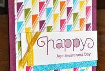 Age Awareness Stampin Up / by Kristen's Kindergarten