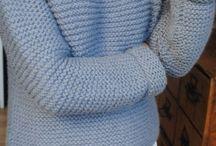 tricot pull facile
