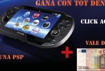 GANA GRATIS UNA PSP + 50 EUROS / GANA UNA PSP + 50 EUROS GRATIS