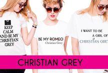 Koszulki z nadrukiem Christian Grey! / Kup swoją koszulkę z bohaterem miliona kobiet Christianem Greyem! :)  Zapraszamy na nasze aukcje: http://bit.ly/17K6I5k