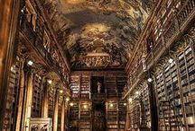 Fabulous Libraries, Reading Nooks, and a Love of Reading / Images of wonderful libraries and places in which to enjoy reading