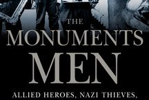 """ART TREASURES IN WAR / """" The Monuments Men"""", based on a true story and the book of the same name by Robert Edsel, opens in movie  theaters on February 7"""