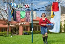 Hills Premium Rotary Clotheslines / The fully-featured top-of-the-range clothesline. Hills Premium Rotaries The Hills elegant designs are equipped with the latest innovative benefits.