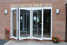Aluminium Bi-fold Doors / http://www.starglaze-windows.com/Aluminium/Bi-Fold.aspx