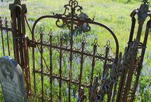Old Gates/Fences / by Shelly@The Domestic Heart Blog
