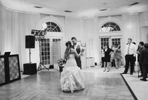 Dance the Night Away / Receptions the our Pavilion. The Pavilion is where the party gets started! Enjoy a buffet or plated dinner in this space and dance the night away. Our pavilion hosts a built in bar, dance floor and has plenty of space for your guests.