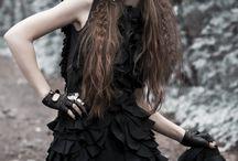 Dark photo shoot
