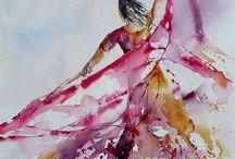 Tanec v malbě