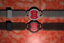 4-1 Chainmaille Watch Concept / Concept watch based on the 4 into 1 chainmaille pattern used in  Medieval European armour. Used the 4 into 1 pattern to create the digits and the strap.