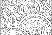 Crafts: Colouring In Pages / A collection of coloring pages mostly super detailed pages suitable for adults or older children and many free printable pages