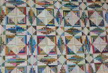 Quilts---Log Cabin- / by Sue Dodge
