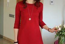 krój sukienki A