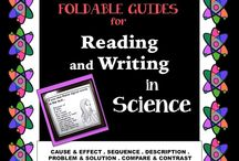 Reading in Science - Resources for Teachers / Teaching resources for supporting reading and readers in science classes.