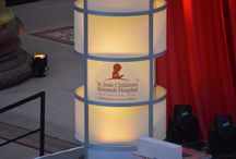 2016 St. Jude Gala / EVENTEQ worked with St. Jude Children's Research Hospital to provide stage set, audio, lighting and video systems for the 2016 Gala @ the National Building Museum