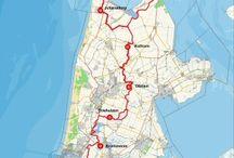 Fiets routes