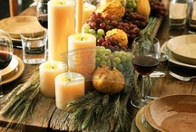 Autumn table decoration / by Bell'Agio Casa