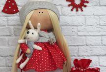 текстильная кукла выкройки