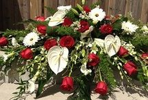 Funeral Flowers / A gallery of tasteful and respectful funeral flowers