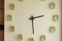 CLOCKS / BUTTONS ETC / by Sharon Sawyer