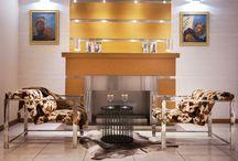 Furniture from stainless steel designed by Nastya Redkozubova
