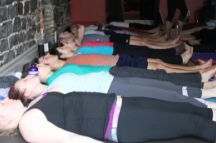 Body Scan in Divine Sleep Yoga Nidra / The body scan practiced in savasana pose at the end of class will aid in bringing your students into a place of peace and restoration in order to integrate the postures. During savasana, students can benefit from their teacher's guiding voice – many are not able to easily relax, even by the end of class. The mind can still be racing, or body sensations causing distraction. The mind focused by the guiding voice of the teacher is calming and soothing and gives the mind something to do. / by Jennifer Reis