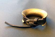 Black navy bracelets