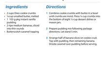 Recipe: Desserts