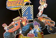 .Blaze And The Monster Machines Party.