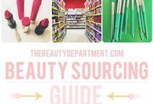 Cosmetics sources