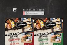 Food Flyer / Find design templates for Food Flyer Template. Easy to customize.