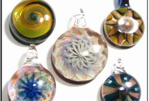Blown Glass Pendants / Blown glass pendants by Glass Peace / by GlassPeace