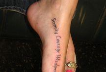 Tattoos / Foot tatto