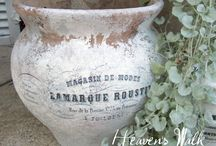 Garden Flower Pot Makeover
