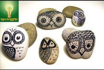 Dekoration på sten