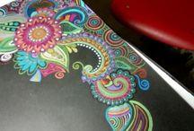 Prisma colour Doodling