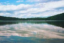 Manzara / Göl kıyısı