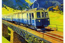 Train routes