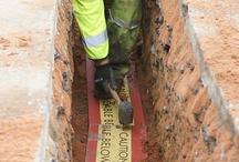 Centriforce - Stokbord & Tapetile Underground Cable Protection for LV HV 11kV 33kV Power Cables