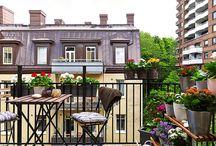 Balcony terrace.