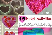 Valentines Day / valentines day with kids, activities