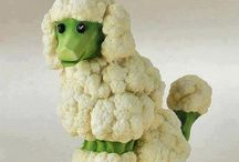 zvieratka zo zeleniny