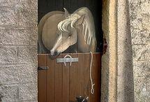 dessin sur porte