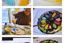 Art class ideas - kids