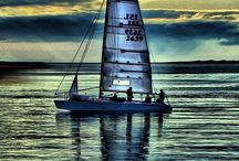 Blue sail / Sailing...