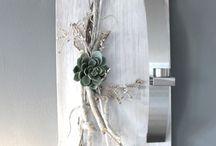 Wand deko