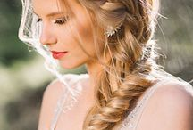 Plaited bridal hairstyles
